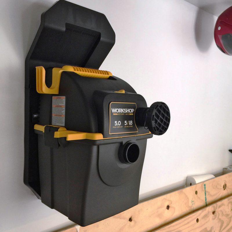 Emerson WORKSHOP 5HP Portable Wall Mount WetDry Vac 12
