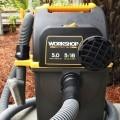 Emerson WORKSHOP 5HP Portable Wall Mount WetDry Vac 25