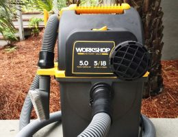 Hands-On Review – 2015 WORKSHOP Wet/Dry Vac – 5HP, 5-Gal Portable Wallmount