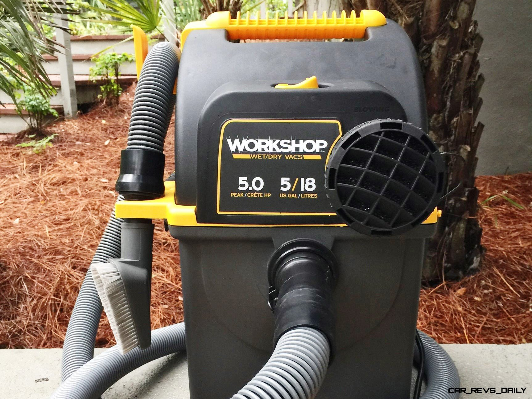 Hands-On Review - 2015 WORKSHOP Wet/Dry Vac - 5HP, 5-Gal Portable Wallmount