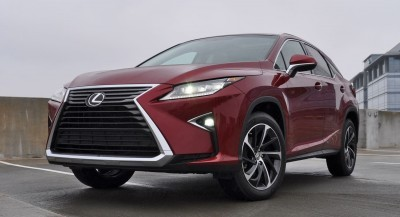 First Drive Review - 2016 Lexus RX350 FWD Luxury Package 11