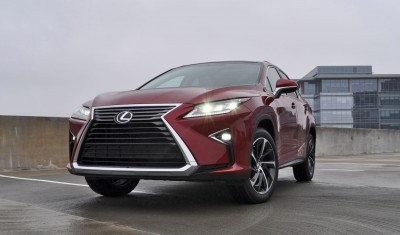 First Drive Review - 2016 Lexus RX350 FWD Luxury Package 12