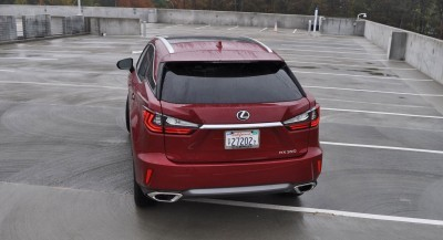 First Drive Review - 2016 Lexus RX350 FWD Luxury Package 29