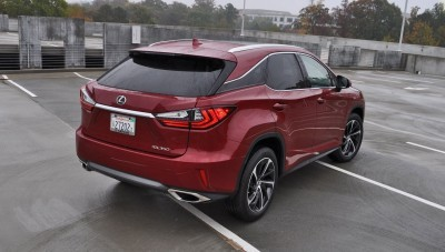 First Drive Review - 2016 Lexus RX350 FWD Luxury Package 32