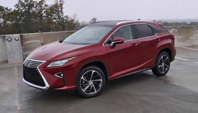 First Drive Review - 2016 Lexus RX350 FWD Luxury Package 40
