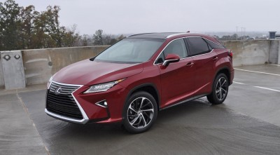 First Drive Review - 2016 Lexus RX350 FWD Luxury Package 41