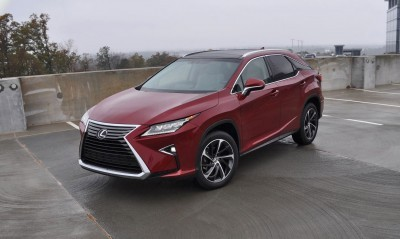 First Drive Review - 2016 Lexus RX350 FWD Luxury Package 42