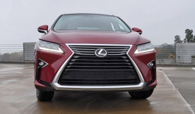 First Drive Review - 2016 Lexus RX350 FWD Luxury Package 43