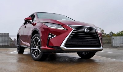 First Drive Review - 2016 Lexus RX350 FWD Luxury Package 55