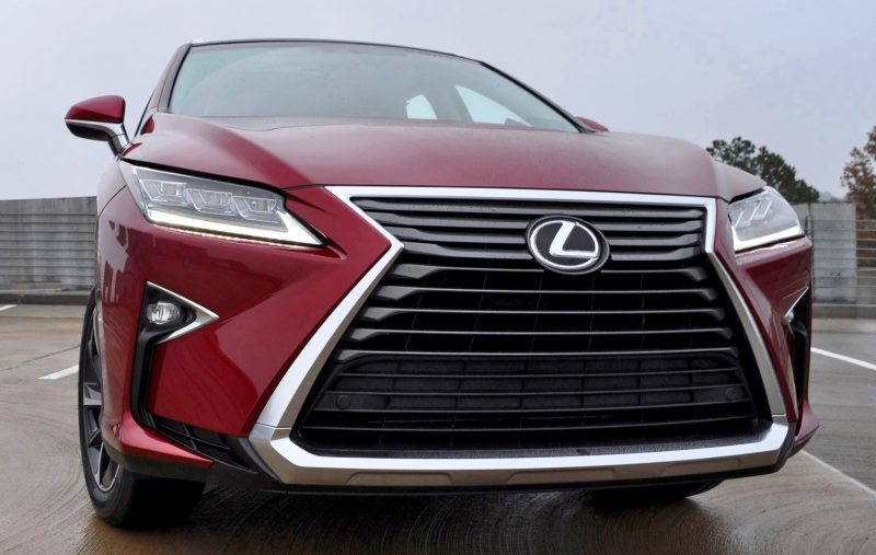 First Drive Review - 2016 Lexus RX350 FWD Luxury Package 64