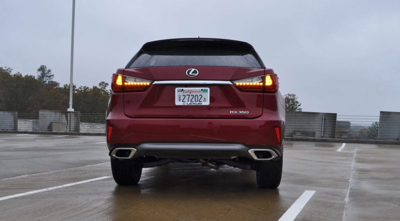 First Drive Review - 2016 Lexus RX350 FWD Luxury Package 73