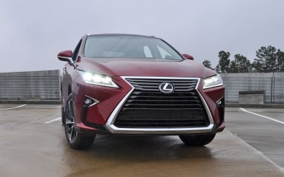 First Drive Review - 2016 Lexus RX350 FWD Luxury Package 78