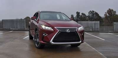 First Drive Review - 2016 Lexus RX350 FWD Luxury Package 79