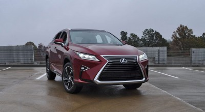 First Drive Review - 2016 Lexus RX350 FWD Luxury Package 81
