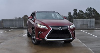 First Drive Review - 2016 Lexus RX350 FWD Luxury Package 82