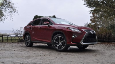 First Drive Review - 2016 Lexus RX350 FWD Luxury Package 94