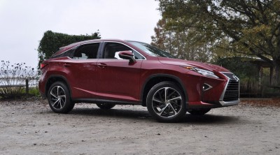 First Drive Review - 2016 Lexus RX350 FWD Luxury Package 95