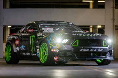 Vaughn Gittin Jr's 2016 Ford Mustang RTR Competition-Spec Drift Car