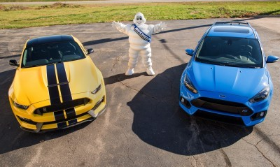 Ford and Michelin are entering into an official relationship for Ford Performance vehicles. Producer of some of the world's highest-performing sports car and off-road tires, Michelin will provide tire fitments for the Ford Performance vehicle lineup, including Ford GT, Shelby® GT350 and Shelby GT350R Mustang, Fiesta ST, Focus ST and RS, and F-150 Raptor.