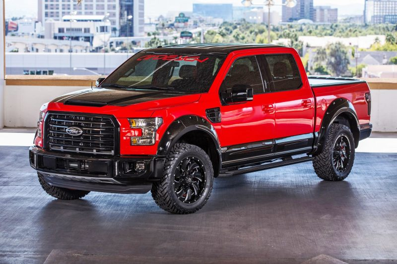 Ford SEMA 2015 Custom TRUCKS 10