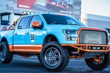 Ford SEMA 2015 Custom TRUCKS - Galpin F-150 in Gulf Racing Livery Is Best of Group