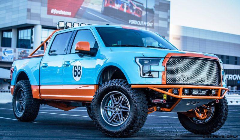 Ford SEMA 2015 Custom TRUCKS