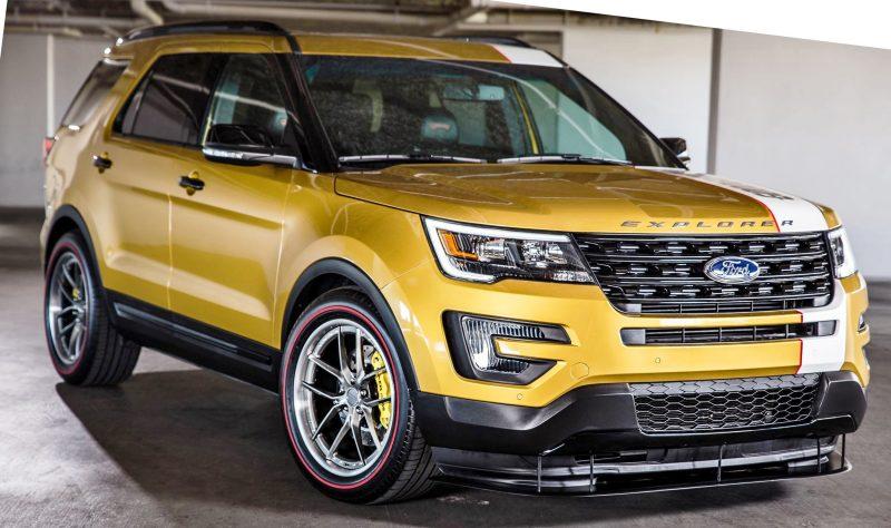 Ford SEMA 2015 Custom TRUCKS 13