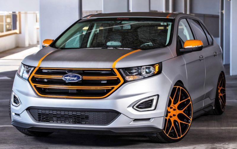 Ford SEMA 2015 Custom TRUCKS 2