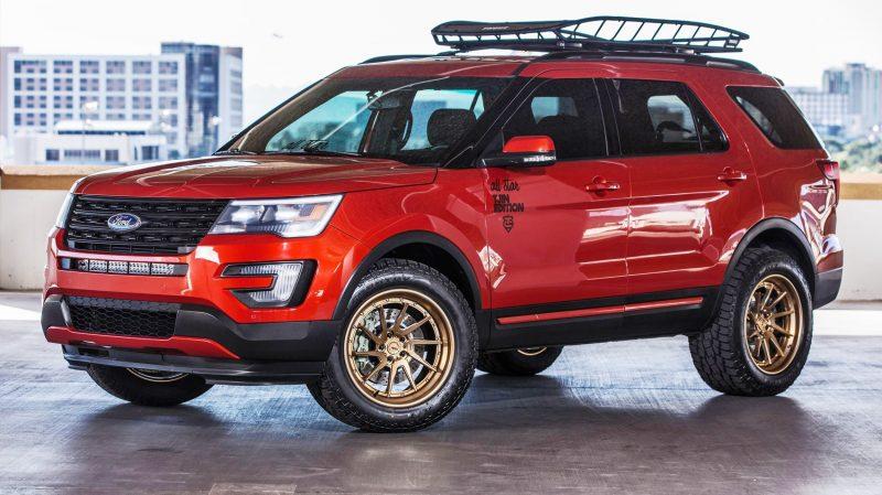 Ford SEMA 2015 Custom TRUCKS 3