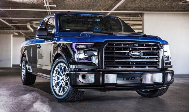 Ford SEMA 2015 Custom TRUCKS 9