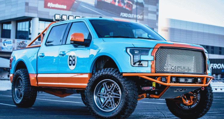 Ford SEMA 2015 Custom TRUCKS
