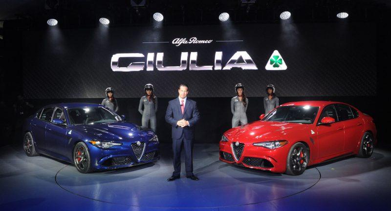 Hottest LA Debuts - 2016 Alfa Romeo GIULIA Quadrifoglio 1