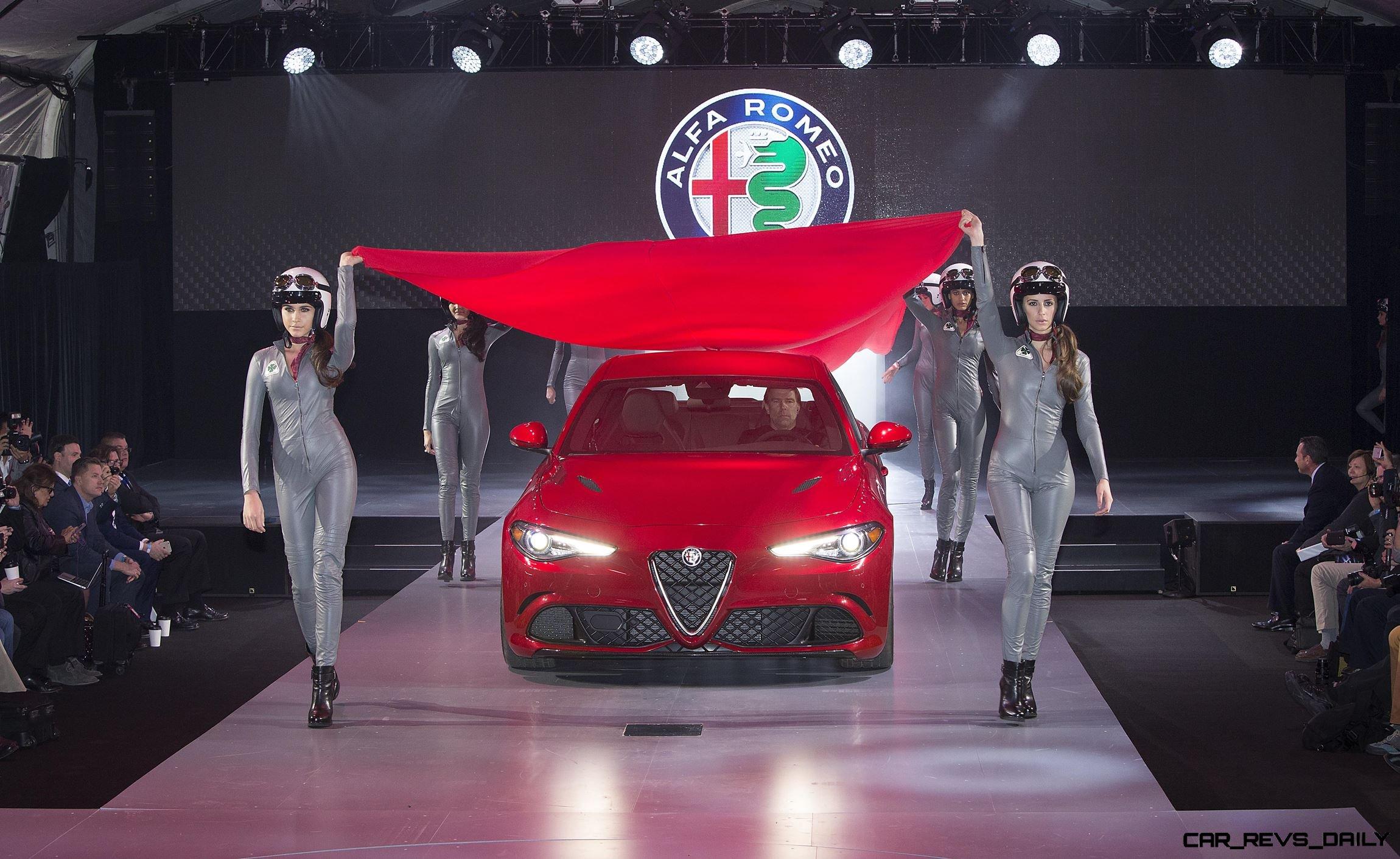 Hottest LA Debuts - 2016 Alfa Romeo GIULIA Quadrifoglio 3