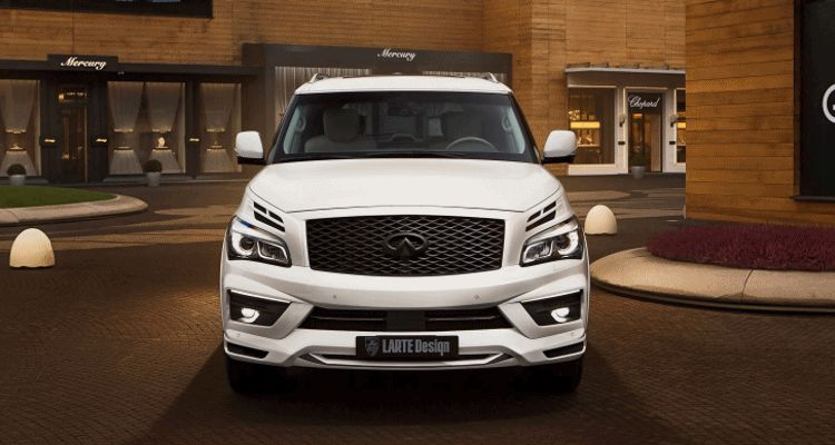 LARTE DESIGN 2016 Infiniti QX80 Missuro - White LED animation