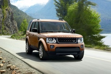 2016 Land Rover LR4 Discovery Scores New Graphite and Landmark Editions