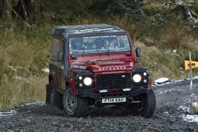 Land Rover DEFENDER CHALLENGE by Bowler Motorsport - Borders Rally Season Finale 1