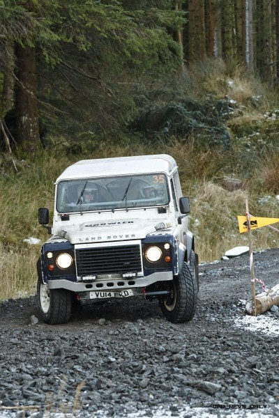 Land Rover DEFENDER CHALLENGE by Bowler Motorsport - Borders Rally Season Finale 10