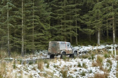 Land Rover DEFENDER CHALLENGE by Bowler Motorsport - Borders Rally Season Finale 11
