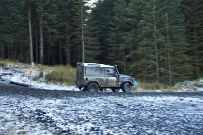 Land Rover DEFENDER CHALLENGE by Bowler Motorsport - Borders Rally Season Finale 13