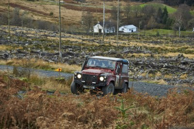 Land Rover DEFENDER CHALLENGE by Bowler Motorsport - Borders Rally Season Finale 14