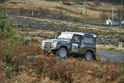 Land Rover DEFENDER CHALLENGE by Bowler Motorsport - Borders Rally Season Finale 15