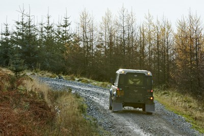 Land Rover DEFENDER CHALLENGE by Bowler Motorsport - Borders Rally Season Finale 16