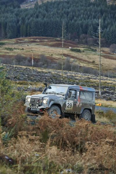Land Rover DEFENDER CHALLENGE by Bowler Motorsport - Borders Rally Season Finale 17