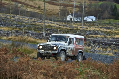 Land Rover DEFENDER CHALLENGE by Bowler Motorsport - Borders Rally Season Finale 18
