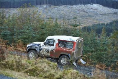 Land Rover DEFENDER CHALLENGE by Bowler Motorsport - Borders Rally Season Finale 19