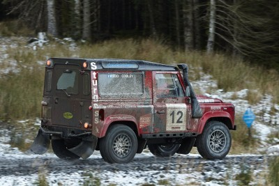 Land Rover DEFENDER CHALLENGE by Bowler Motorsport - Borders Rally Season Finale 2