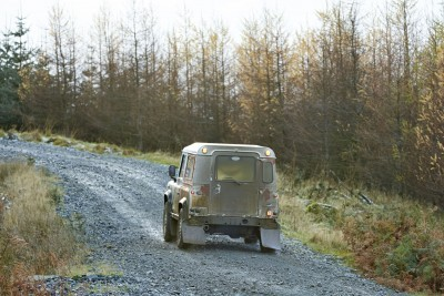 Land Rover DEFENDER CHALLENGE by Bowler Motorsport - Borders Rally Season Finale 20