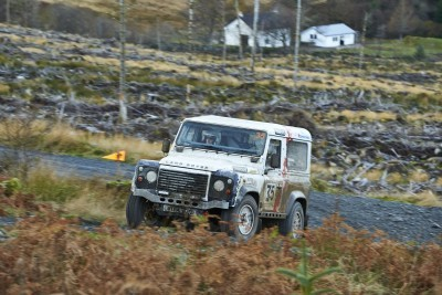 Land Rover DEFENDER CHALLENGE by Bowler Motorsport - Borders Rally Season Finale 21