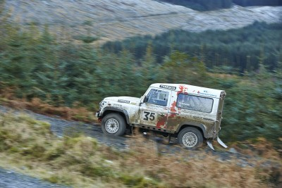 Land Rover DEFENDER CHALLENGE by Bowler Motorsport - Borders Rally Season Finale 22