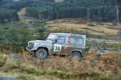 Land Rover DEFENDER CHALLENGE by Bowler Motorsport - Borders Rally Season Finale 23
